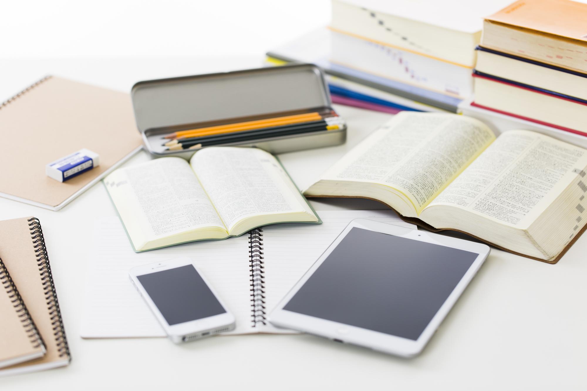 勉強机の画像
